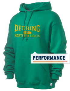 Deering School Northern Lights Russell Men's Dri-Power Hooded Sweatshirt