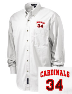 Naco Elementary School Cardinals Embroidered Tall Men's Twill Shirt