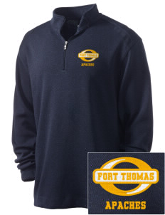 Fort Thomas Elementary School Apaches Embroidered Nike Men's Golf Heather Cover Up