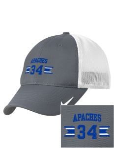 Fort Thomas Elementary School Apaches Embroidered Nike Golf Mesh Back Cap