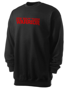 Howard D. Woodson Sr. High Warrior Men's 7.8 oz Lightweight Crewneck Sweatshirt