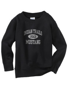 Indian Trails Middle School Mustang Toddler Crewneck Sweatshirt
