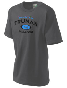 Truman high school Bulldog Kid's Organic T-Shirt