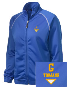 Gidley Elementary School Trojans Embroidered Holloway Women's Attitude Warmup Jacket