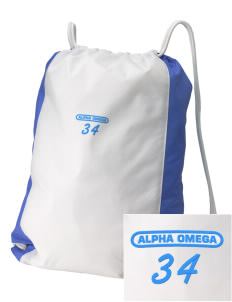 Alpha Omega Academy We don't have one.  We have a logo Embroidered Holloway Home and Away Cinch Bag
