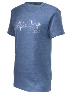 Alpha Omega Academy We don't have one.  We have a logo Embroidered Alternative Unisex Eco Heather T-Shirt