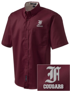 fa'asao high cougars Embroidered Men's Easy Care Shirt