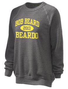 Bob Beard Beardo Unisex Alternative Eco-Fleece Raglan Sweatshirt