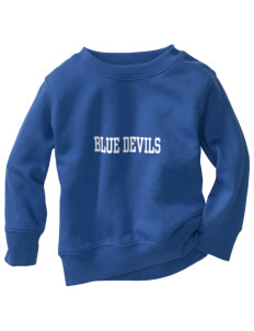 Sunnyside High School Blue Devils Toddler Crewneck Sweatshirt