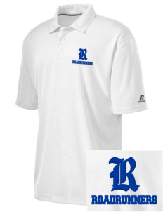 Norwood Elementary School Roadrunners Embroidered Russell Coaches Core Polo Shirt