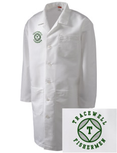 Tracewell fishermen Full-Length Lab Coat