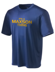 Maxson Elementary School Falcons Champion Men's Wicking T-Shirt
