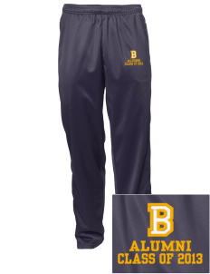 Bixby Elementary School Wildcats Embroidered Men's Tricot Track Pants