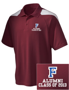 Fairview Middle School Cardinals Embroidered Holloway Men's Frequency Performance Pique Polo