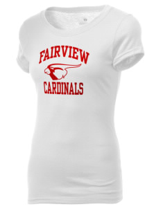 Fairview Middle School Cardinals Holloway Women's Groove T-Shirt