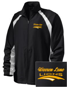 Warren Lane Elementary School Lions  Embroidered Men's Full Zip Warm Up Jacket