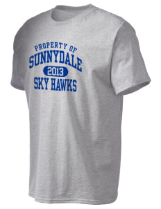 Sunnydale Elementary School Sky Hawks Tall Men's Essential T-Shirt
