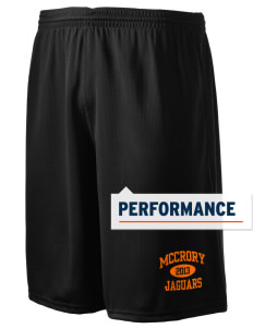 "McCrory High School Jaguars Holloway Men's Speed Shorts, 9"" Inseam"