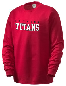 Skyline High School Titans Men's Organic Long Sleeve T-Shirt