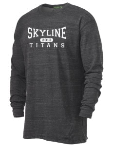 Skyline High School Titans Alternative Men's 4.4 oz. Long-Sleeve T-Shirt