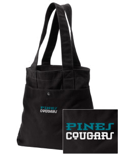 Pines Elementary School Cougars Embroidered Alternative The Berkeley Tote