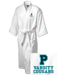 Pines Elementary School Cougars Embroidered Terry Velour Robe