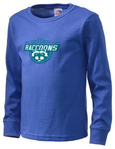Forest Ranch Elementary School Raccoons  Kid's Long Sleeve T-Shirt