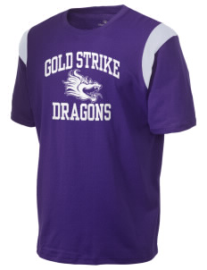 Gold Strike High School Dragons Holloway Men's Rush T-Shirt