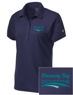 Discovery Bay Elementary School Dolphins Embroidered OGIO Women's Jewel Polo