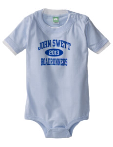 John Swett Elementary School Roadrunners Baby One-Piece with Shoulder Snaps