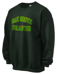 Oak Grove Middle School Braves Ultra Blend 50/50 Crewneck Sweatshirt