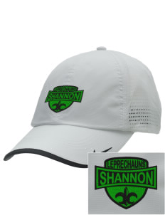Shannon Elementary School Leprechauns Embroidered Nike Dri-FIT Swoosh Perforated Cap