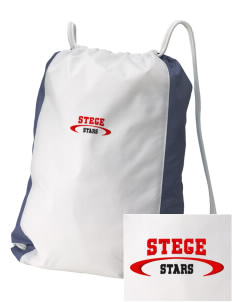 Stege Elementary School Stars Embroidered Holloway Home and Away Cinch Bag