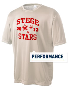 Stege Elementary School Stars Men's Competitor Performance T-Shirt