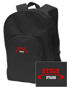 Stege Elementary School Stars Embroidered Value Backpack