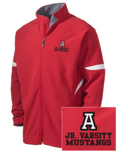 Alamo Elementary School Mustangs Holloway Embroidered Men's Radius Zip Front Jacket