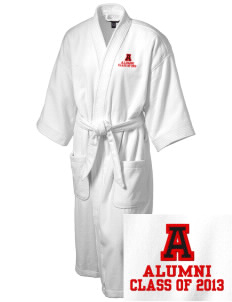 Alamo Elementary School Mustangs Embroidered Terry Velour Robe