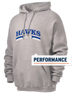 Millers Hill Middle School Hawks Russell Men's Dri-Power Hooded Sweatshirt