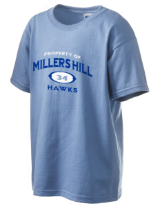 Millers Hill Middle School Hawks Kid's 6.1 oz Ultra Cotton T-Shirt