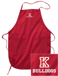 Kratt Elementary School Bulldogs Embroidered Full Length Apron
