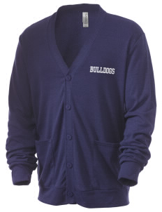 Kratt Elementary School Bulldogs Men's 5.6 oz Triblend Cardigan