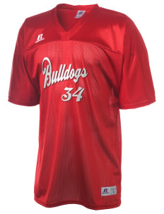 Kratt Elementary School Bulldogs  Russell Men's Replica Football Jersey