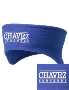 Chavez Elementary School Panthers Embroidered Fleece Headband