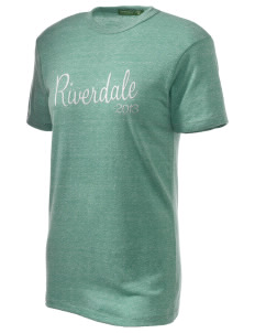 Riverdale High School Cowboys Embroidered Alternative Unisex Eco Heather T-Shirt