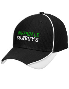 Riverdale High School Cowboys Embroidered New Era Contrast Piped Performance Cap