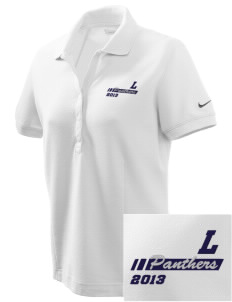 Lake Elementary School Panthers Embroidered Nike Women's Pique Golf Polo