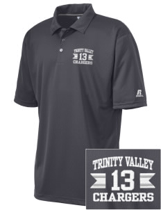 Trinity Valley Elementary School Chargers Embroidered Russell Coaches Core Polo Shirt