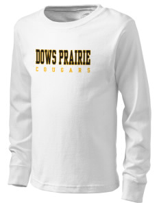 Dows Prairie Elementary School Cougars  Kid's Long Sleeve T-Shirt