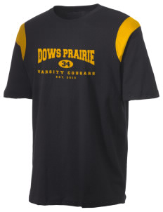 Dows Prairie Elementary School Cougars Holloway Men's Rush T-Shirt