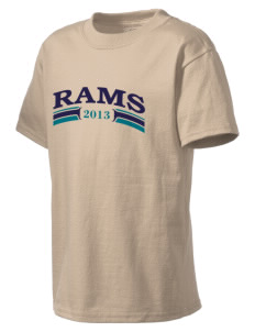Grace Christian Academy Rams Kid's Lightweight T-Shirt